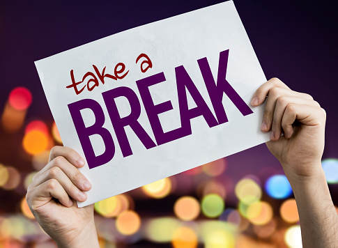 Take a Break sign